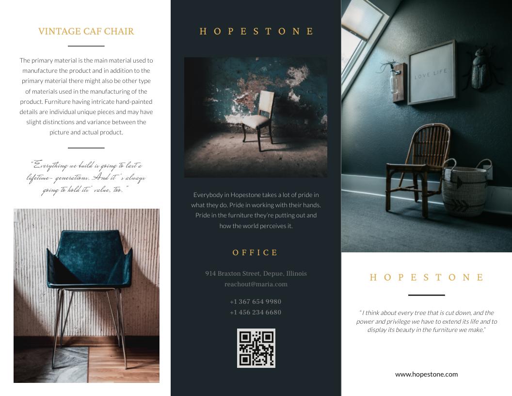 Brochure template #3 - graphic design tips for non-designers