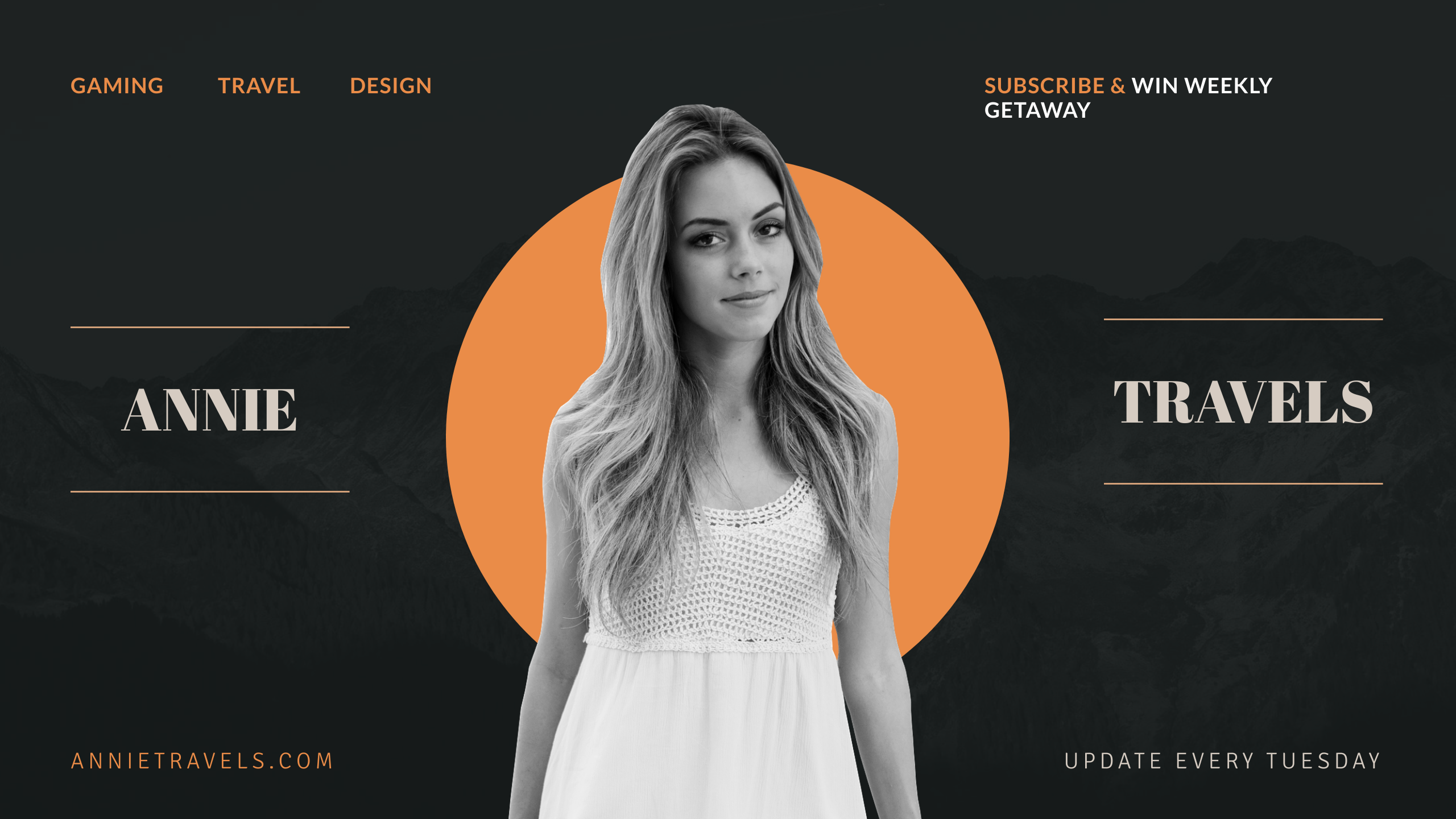 YouTube banner template #2 - graphic design tips for non-designers